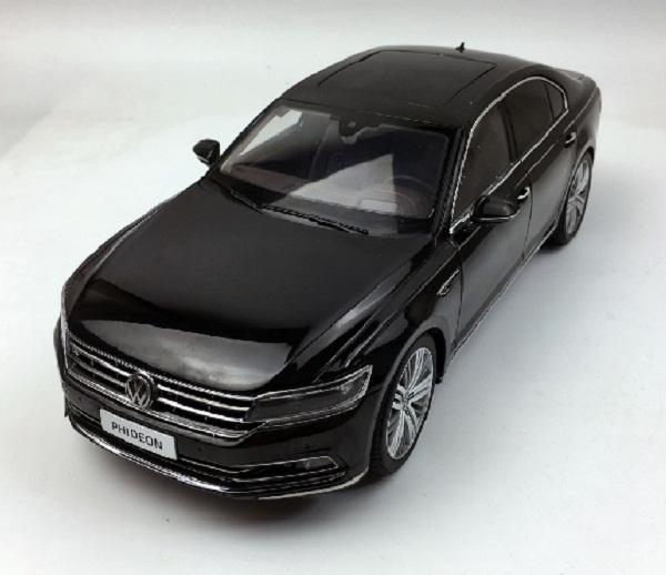 โมเดลรถ โมเดลรถเหล็ก โมเดลรถยนต์ Volkswagen PHIDEON black 1