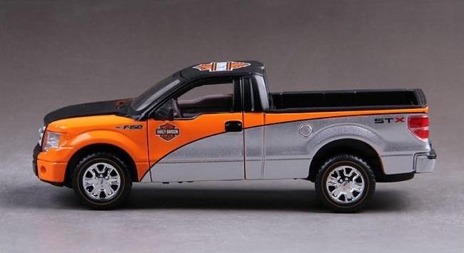 โมเดลรถ รถเหล็ก โมเดลรถเหล็ก โมเดลรถยนต์ Ford F150 GTX 5