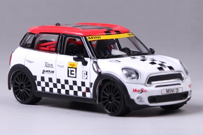 โมเดลรถ โมเดลรถเหล็ก โมเดลรถยนต์ BMW mini country No 13 1