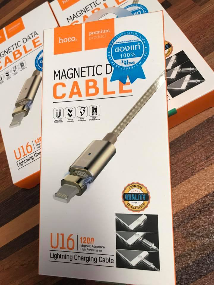 สายชาร์จ Micro USB แบบ Magnetic ของแท้ สำหรับไอโฟน 5,6,7