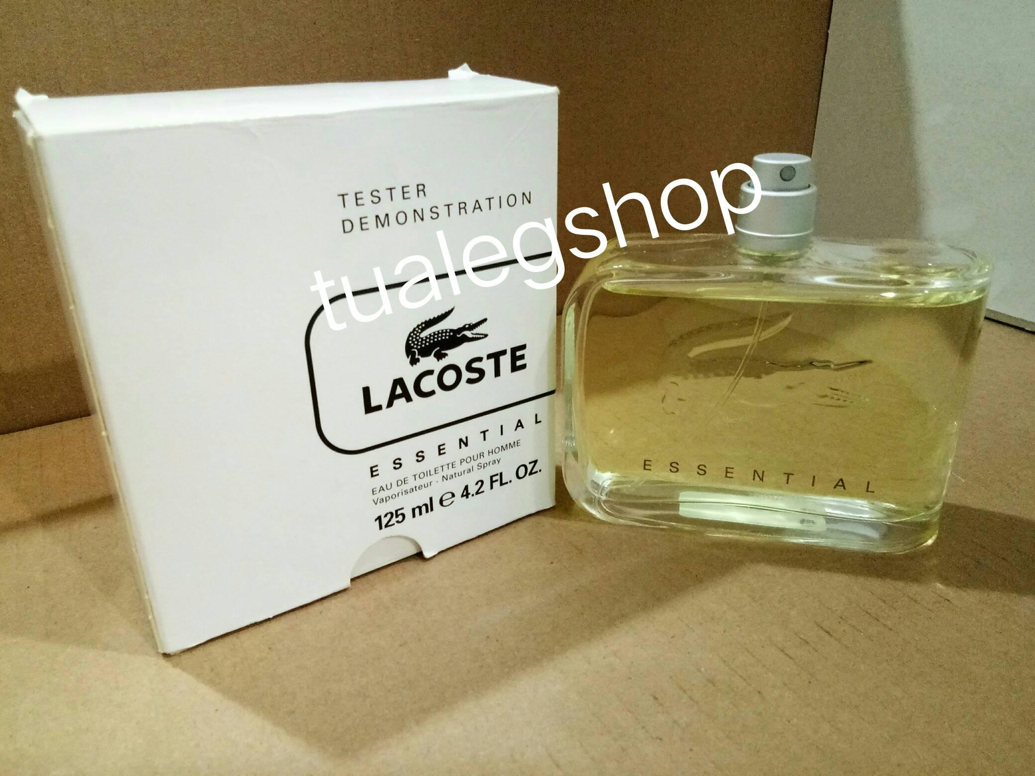 น้ำหอม LACOSTE ESSENTIAL EDT 125ml. (tester box)