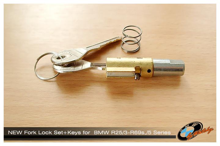 กุญแจล็อคคอพร้อมดอกกุญแจ เป็นของใหม่ซิงๆ เหมาะสำหรับ R25/3-R69s ,และรถตระกูล/5