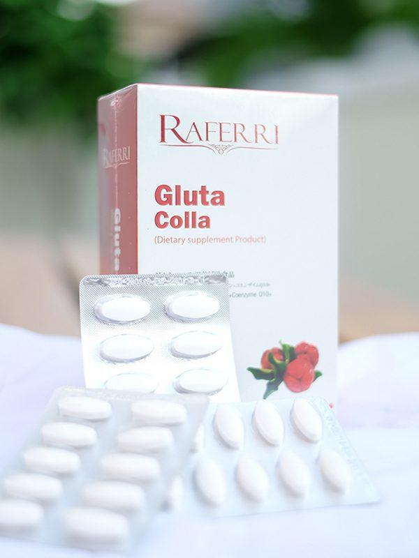 Raferri gluta colla ราเฟอรี่ กลูต้าคอลลาเจน