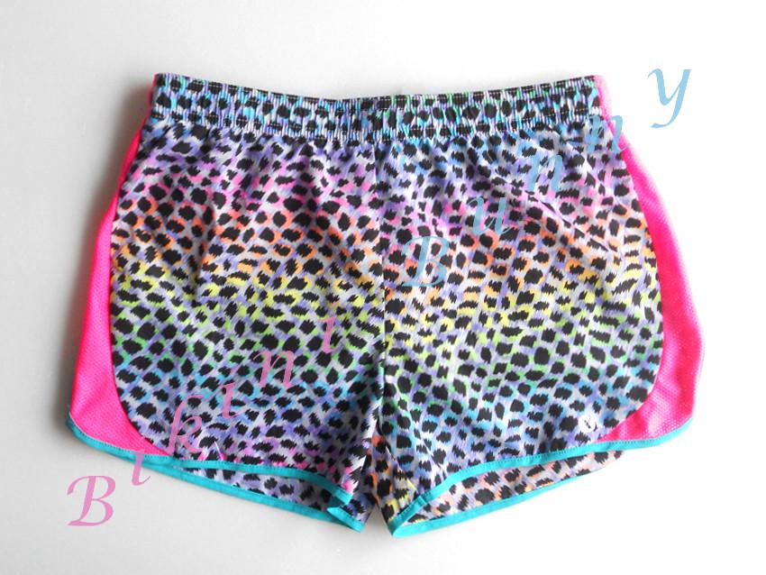sh492 (Size สะโพก 29 - 31 นิ้ว) กางเกงเซิร์ฟเด็กโต ลายเสือสีสดใส พร้อมส่ง