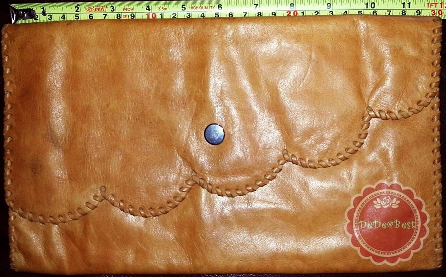 ขายแล้วค่ะ B11:Vintage leather bag กระเป๋าหนังแท้สภาพดีมาก&#x2764