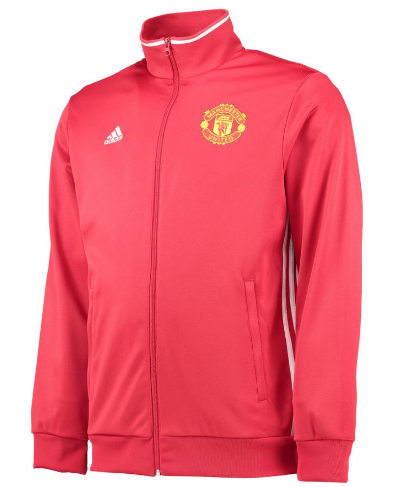 เสื้อสเวตเตอร์แมนเชสเตอร์ ยูไนเต็ด Core Track Top สีแดงของแท้