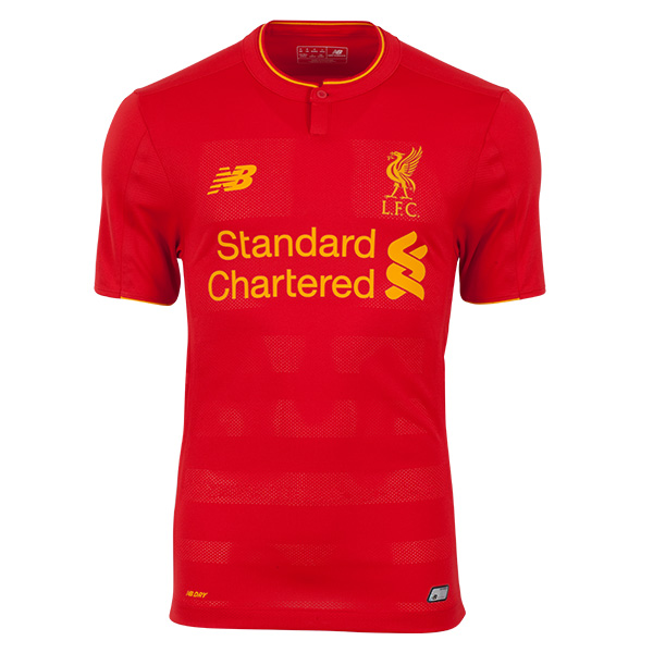 เสื้อลิเวอร์พูล 2016-2017 ทีมเหย้าเวอร์ชั่นนักเตะของแท้ Liverpool FC Home Authentic Elite Shirt 2016/17