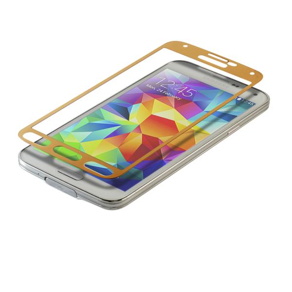 - ฟิล์มกระจกนิรภัย ขอบสีทอง For Samsung Galaxy A7