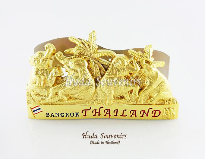 ของที่ระลึกไทย ที่ใส่นามบัตร ลวดลายช้าง ปั้มลายเนื้อนูน สินค้าบรรจุในกล่องมาให้เรียบร้อย สินค้าพร้อมส่ง