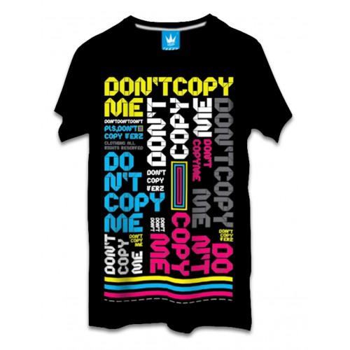 เสื้อผ้าผู้ชาย | เสื้อยืดแฟชั่น เสื้อยืด VERz ลาย Don't copy me