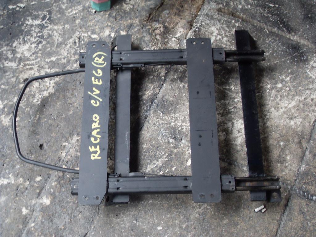 รางเบาะRECARO CIVIC EG ใส่รถCivic 3door 4door Civicปี92 ข้างขวา รางเบาะ เรคคาโร่ RECARO รางเบาะแต่ง รางเบาะซิ่ง รางเบาะ์ซีวิค EG รางเบาะCivic 3ประตู 4ประตู รางเบาะCivic EG
