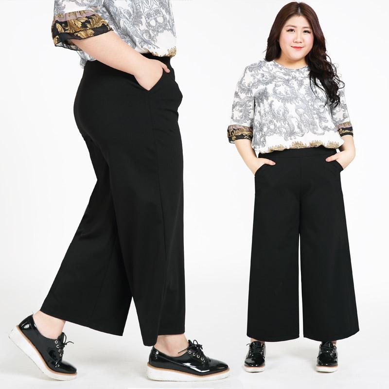 Hit! กางเกงขาบานเกาหลี สาวอวบ (XL,2XL,3XL,4XL,5XL,6XL) MA102