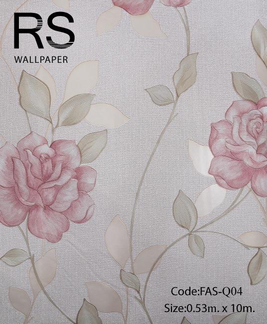 วอลเปเปอร์ลายดอกไม้ FAS-Q04