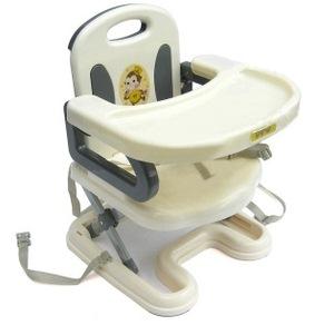 เก้าอี้ทานข้าวเด็ก เก้าอี้ทานข้าวเด็กปรับระดับได้ สีเทา
