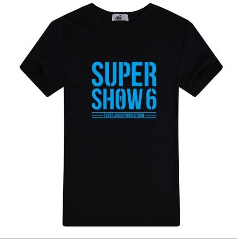 เสื้อ SUPER SHOW 6 (สีดำ)