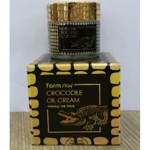 Farmstay Crocodile Oil Cream 70 g. ครีมน้ำมันจระเข้สุดฮิตจากเกาหลี