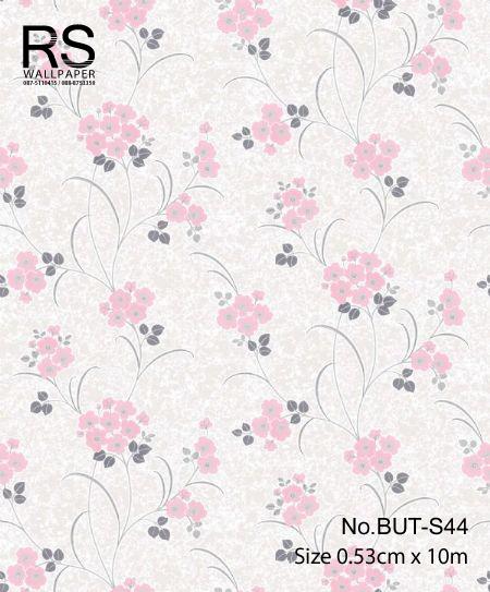 วอลเปเปอร์ลายดอกไม้ใบไม้ BUT-S44