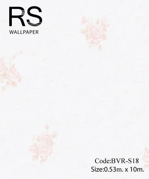 วอลเปเปอร์ลายดอกไม้ BVR-S18