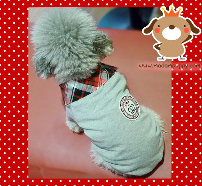 PRE เสื้อผ้าน้องหมา เสื้อน้องหมาสไตล์อังกฤษ
