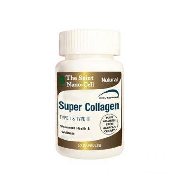 The Saint Nano Cell Super Collagen Type I + Type III ซูปเปอร์คอลลาเจน เดอะ เซนท์ นาโนเซลล์ คอลลาเจนจาก USA