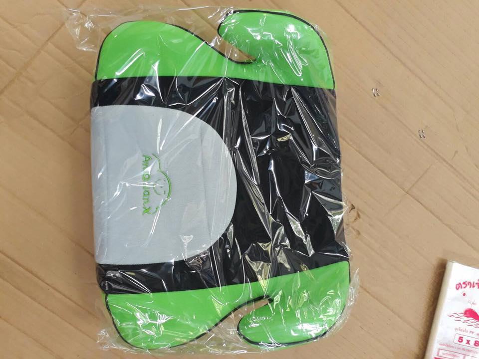 เบาะรองนั่งในรถยนต์สำหรับเด็ก (Booster Seat) สีเขียว