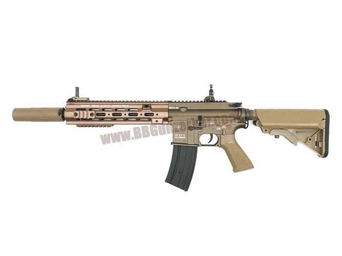 E&C 105S : HK 416 D Geissele 10.5 Dark Earth บอดี้เหล็ก JR.Custom Gen 3
