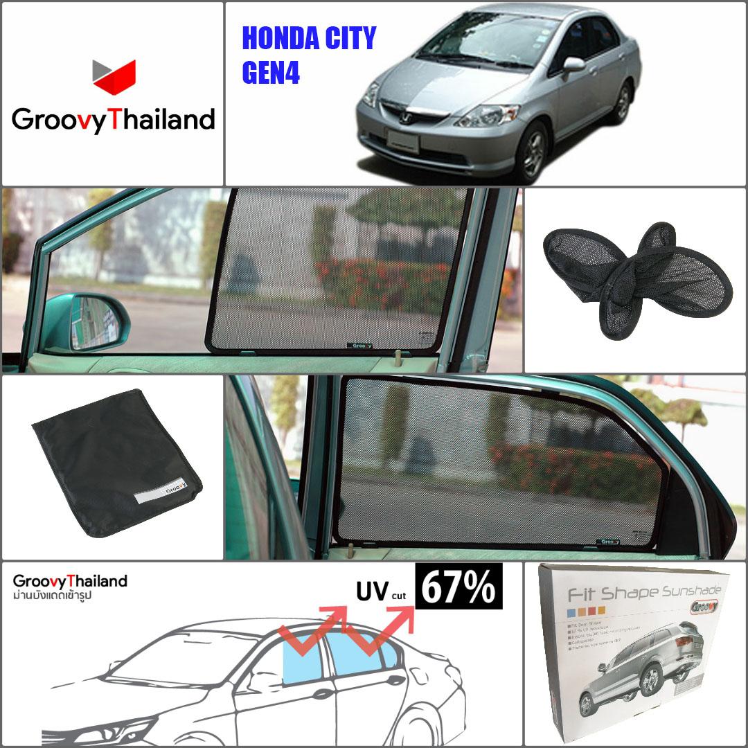 HONDA CITY Gen4 2003~2008 (4 pcs)