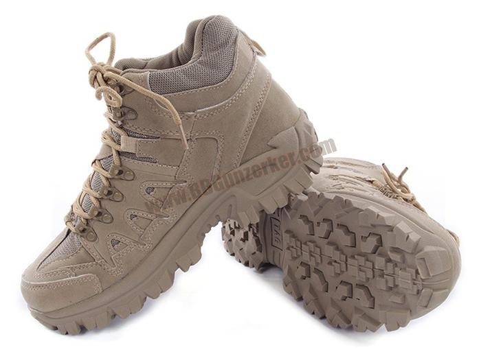 รองเท้า Combat Boots MS TAG สีทราย