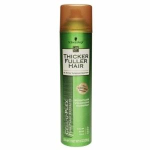 Thicker Fuller Hair Weightless Volumizing Hairspray
