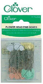 เข็มหมุดหัวดอกไม้ ยาวพิเศษ