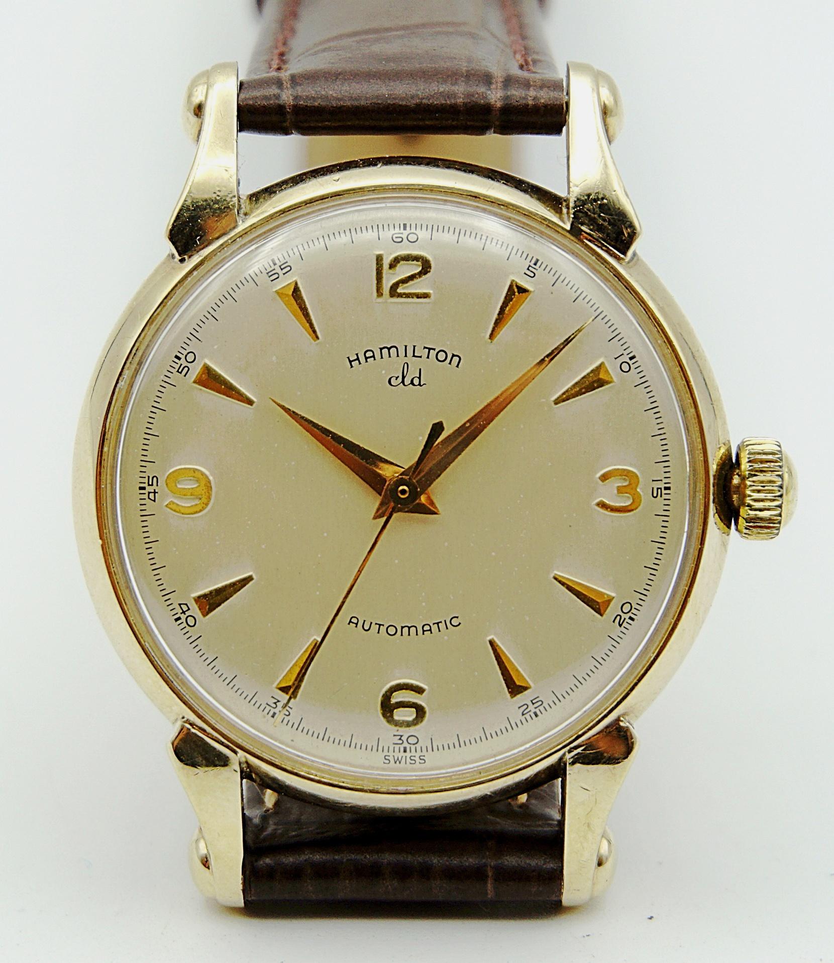 นาฬิกาเก่า HAMILTON ออโตเมติก