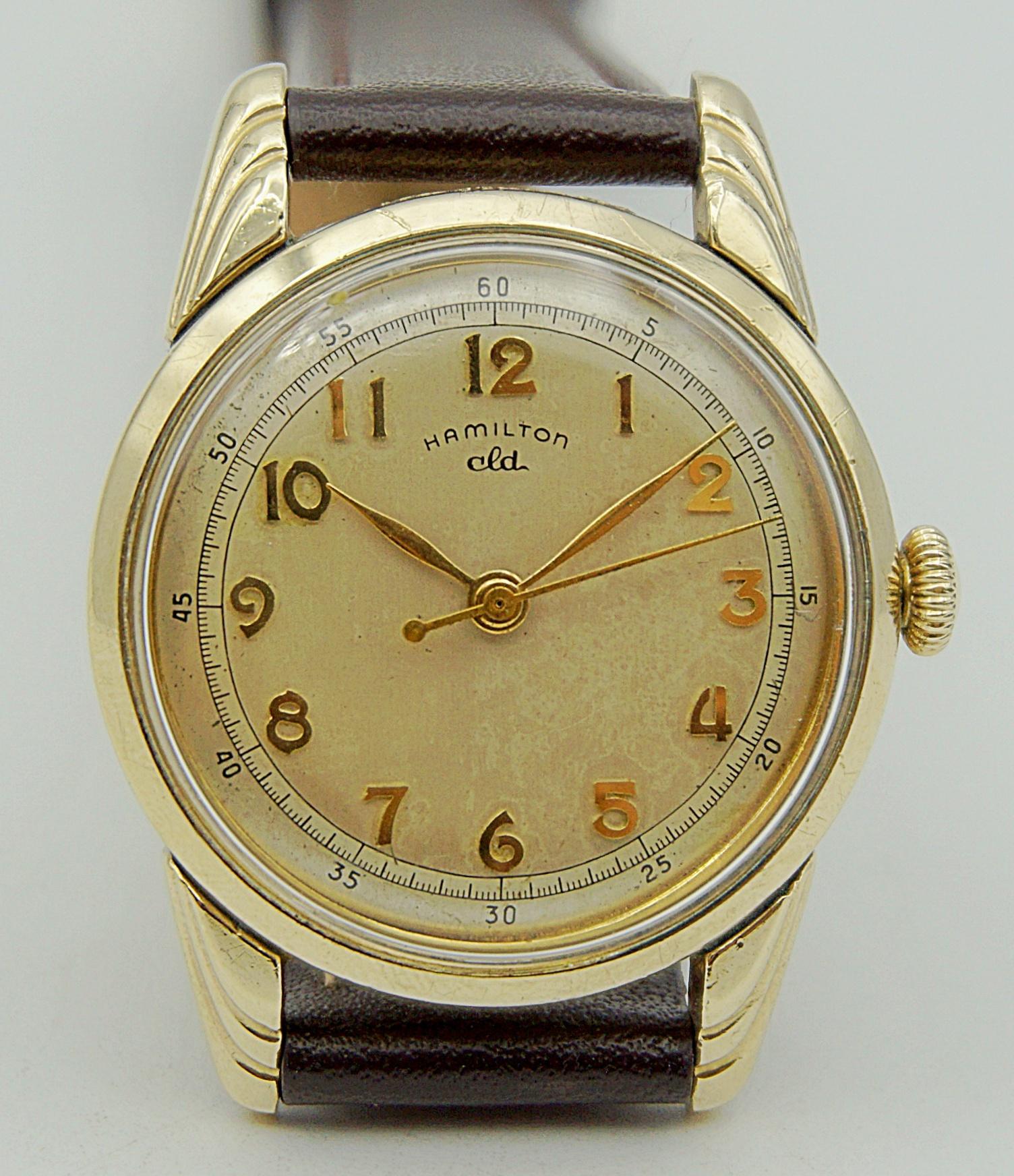 นาฬิกาเก่า HAMILTON ไขลาน