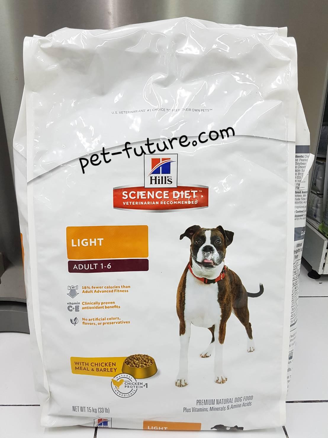 Canine Adult 1-6 LIGHT 15 kg. Exp.02/18 พร้อมส่ง