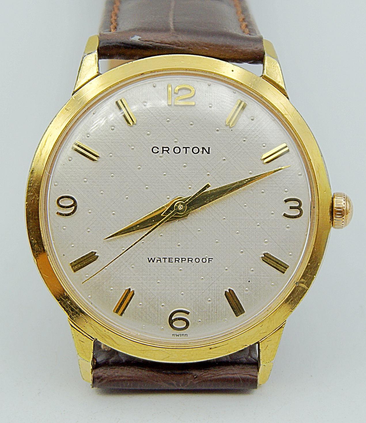 นาฬิกาเก่า CROTON ไขลาน