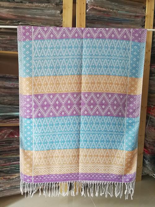 ผ้าพันคอ Pashmina พาสมีน่า ลาย ไทย PS02049T