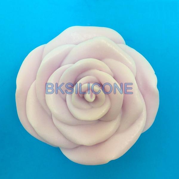 โมล พิมพ์ซิลิโคน พิมพ์วุ้น รูปดอกกุหลาบ (ใหญ่)