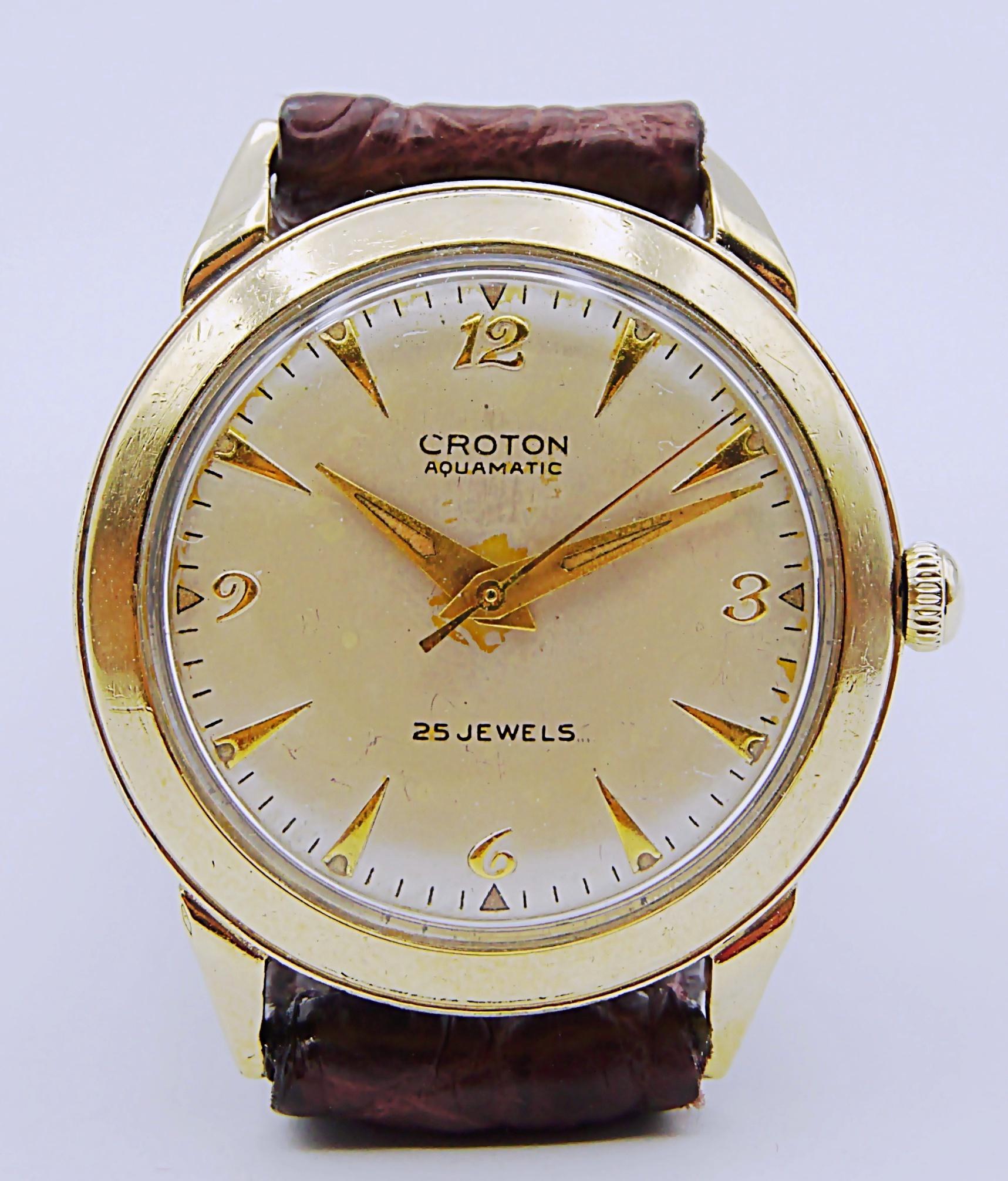 นาฬิกาเก่า CROTON ออโตเมติก