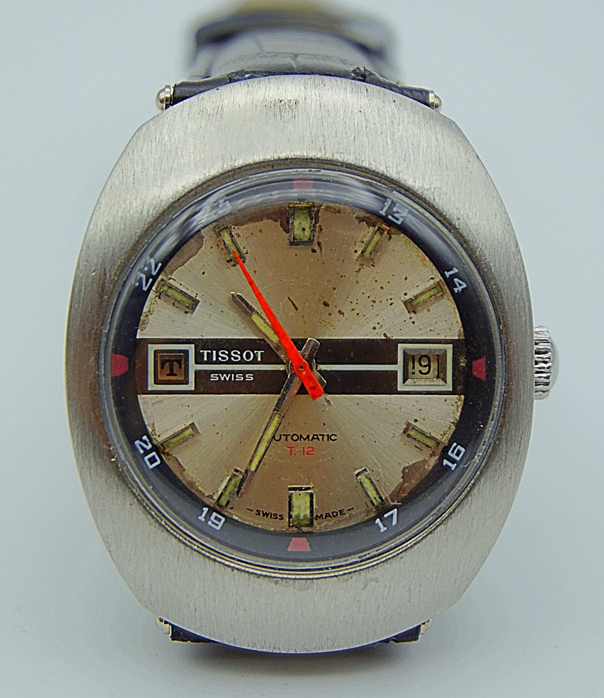 นาฬิกาเก่า TISSOT ออโตเมติก