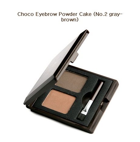 Skinfood Choco Eyebrow Powder Cake #2 Gray Brown