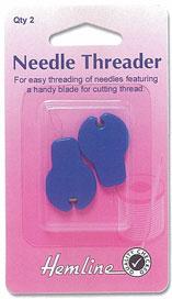 ที่สนเข็ม แบบมีใบมีด (Needle Threader -w/ Cutter)