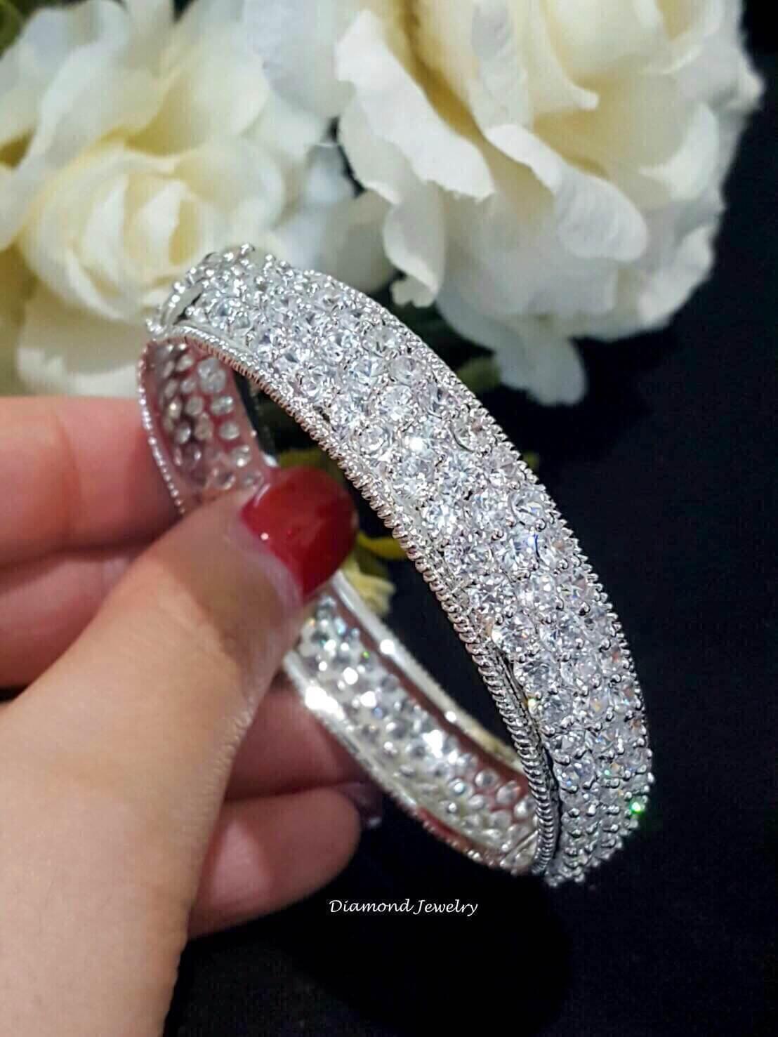 พร้อมส่ง Diamond Bangle งานสวยมากกกกก