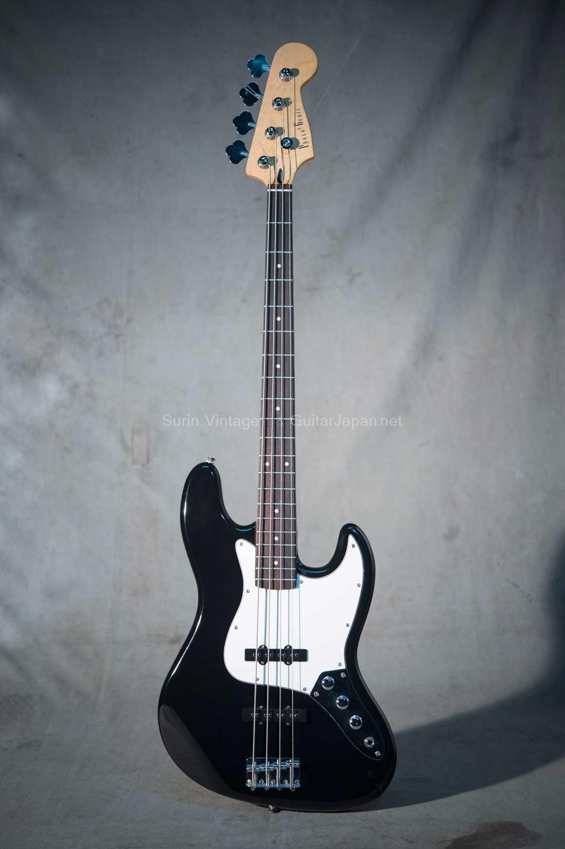 กีต้าร์ Bass ไฟฟ้ามืสอง Photogenic JB Black No.9