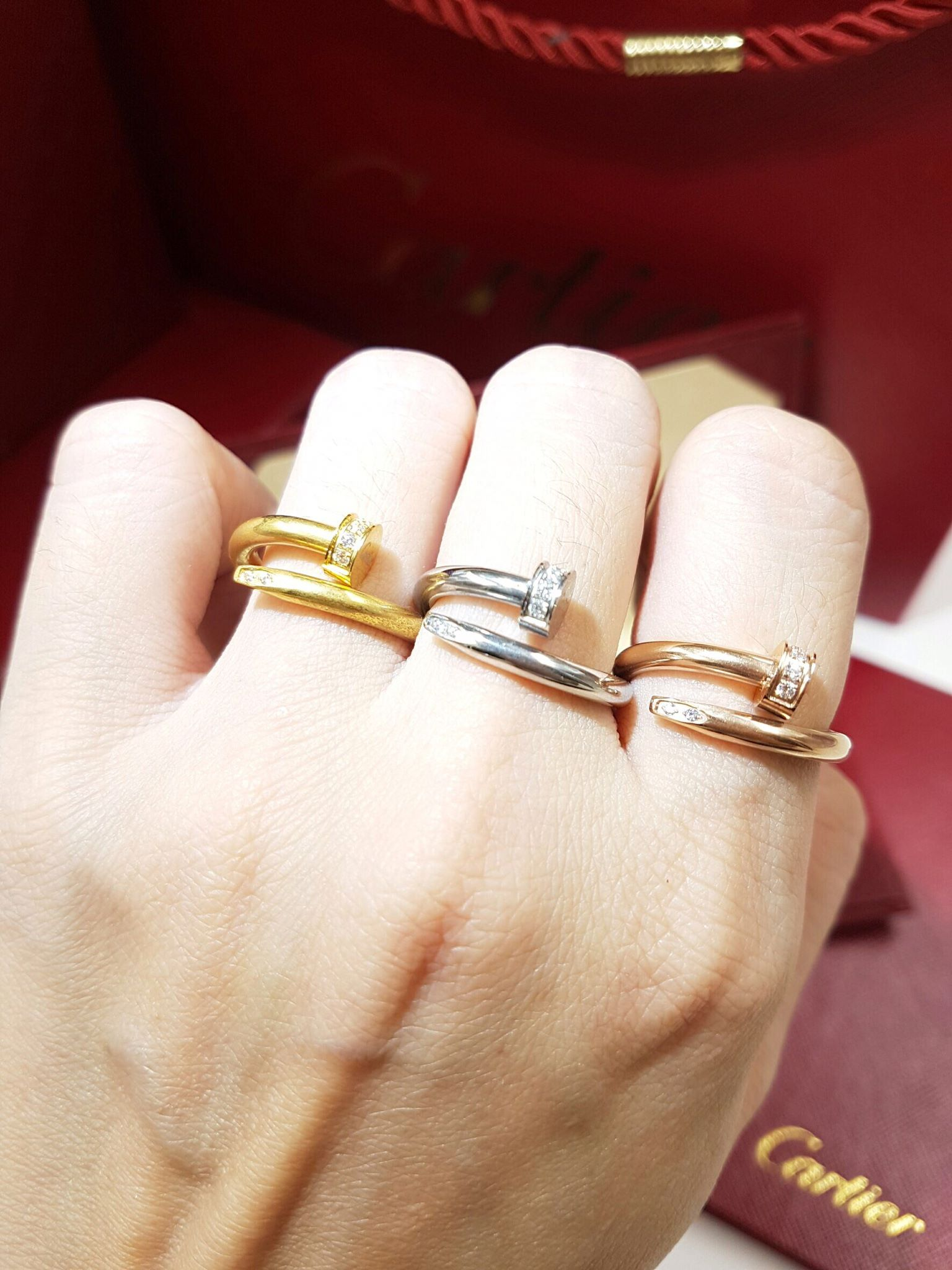 พร้อมส่ง JUST UN CLOU diamond Ring