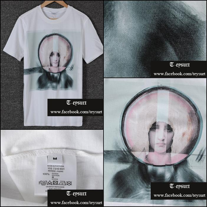 เสื้อGivenchy Madonna Cotton Print