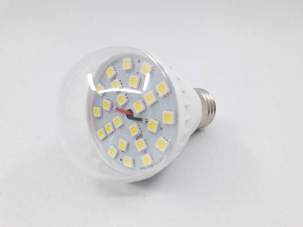 หลอดไฟ LED Bulb White 5W 12V/24V(สีเหลือง)
