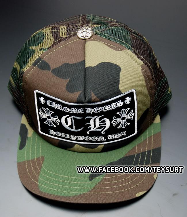 หมวกCHROM HEARTS CAMO TRUCKER CAP