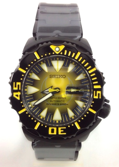 นาฬิกา Seiko Monster The Moon Limited Edition SRP457K