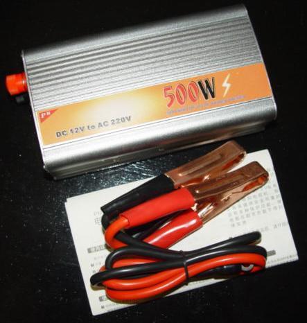 INVERTER 500W DC 12V to AC 220V