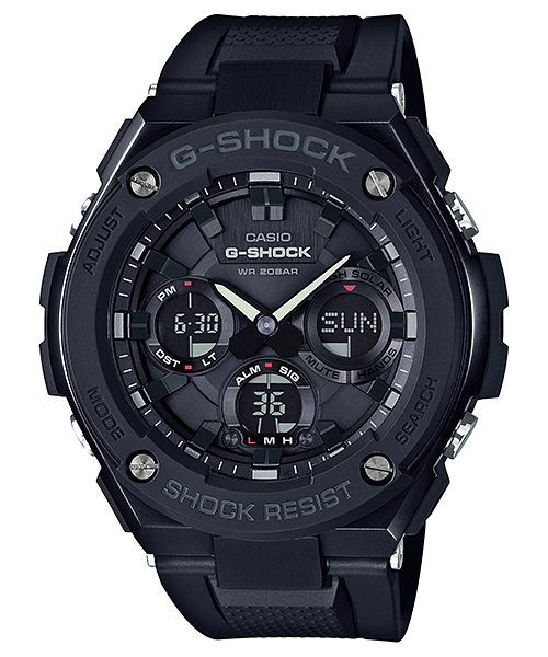 GShock G-Shockของแท้ ประกันศูนย์ G-STEEL TOUGHSOLAR GST-S100G-1B EndYearSale