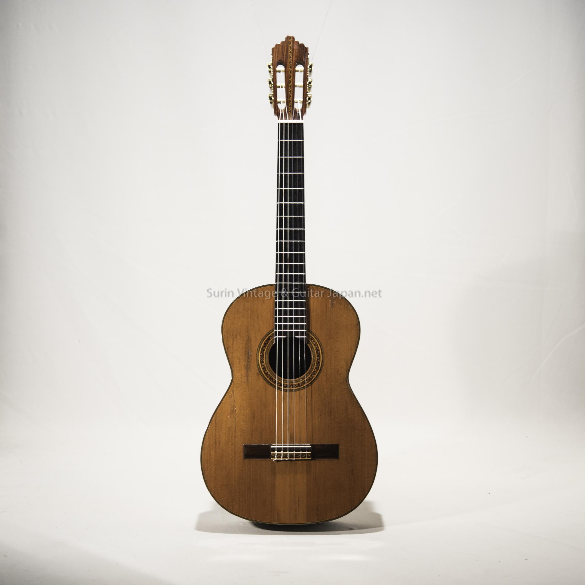 กีต้าร์คลาสสิคมือสอง Classic Guitar Vintage japan No.11 (Top Solid Spruce)